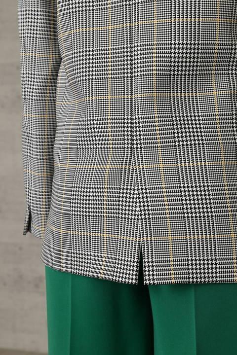 グレンチェック ダブルブレストジャケット