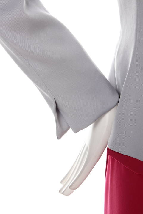 【ドラマ 菅野美穂さんが着用】【ドラマ 泉里香さんが着用】ハイツイストツイル Vノーカラージャケット