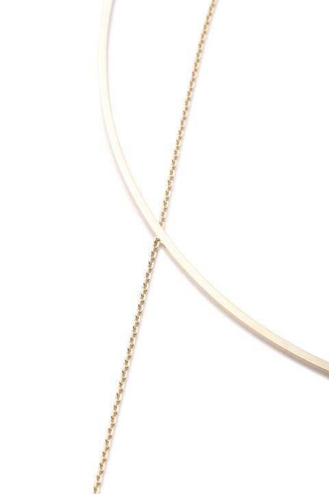 レイヤードチョーカー+ネックレス