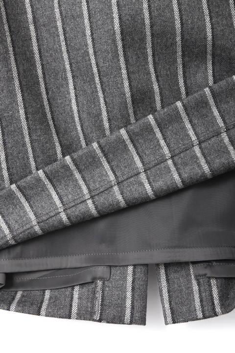 ブリティッシュストライプペンシルスカート