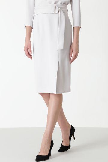 【先行予約 11月上旬-11月中旬 入荷予定】メタルリングベルトダブルサテンスカート