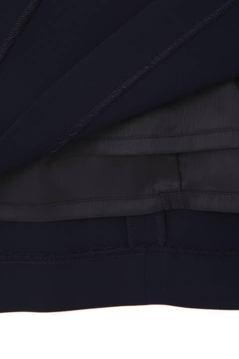 レイヤードスリットセットアップスカート