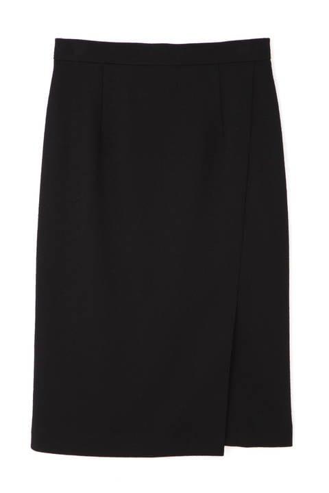 ウール圧縮セットアップスカート