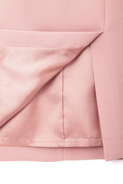 ダブルクロスセットアップスカート