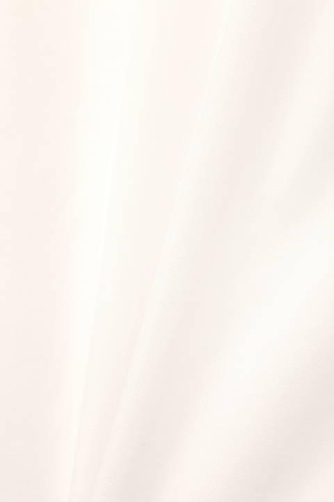 [ウォッシャブル]ダブルフレア-スリーブカラーブラウス