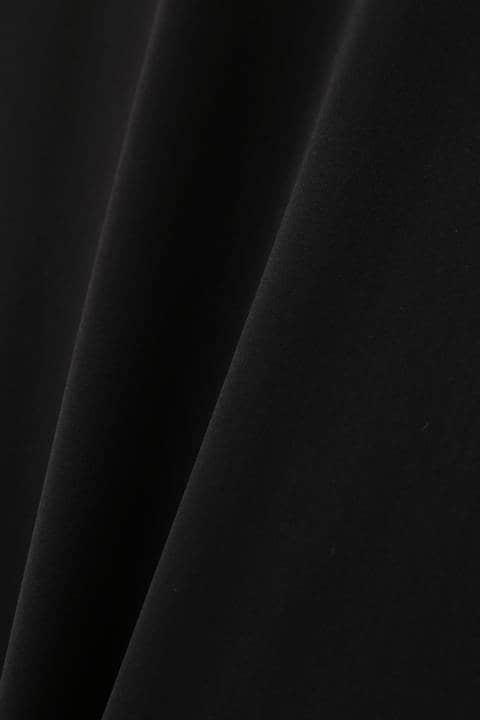[ウォッシャブル]バックボタンセットアップブラウス