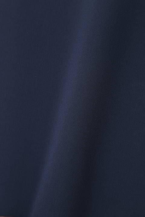 【ドラマ 桜井ゆきさん着用】メタルポイントキーネックブラウス