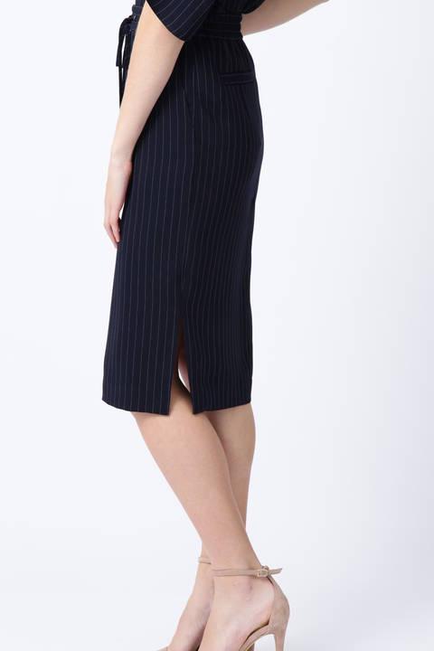 【先行予約 3月上旬-3月中旬 入荷予定】ストライプドロストスカート