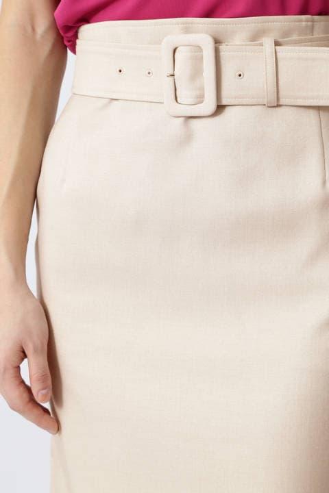 【雑誌 Oggi 5月号掲載】ドライタッチセットアップスカート