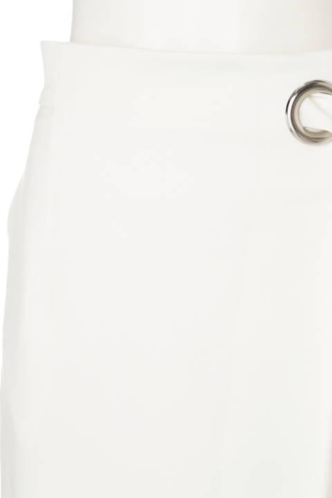 ワイドハトメラップリボンスカート