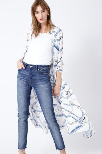 マリンスカーフロングソフトシャツ