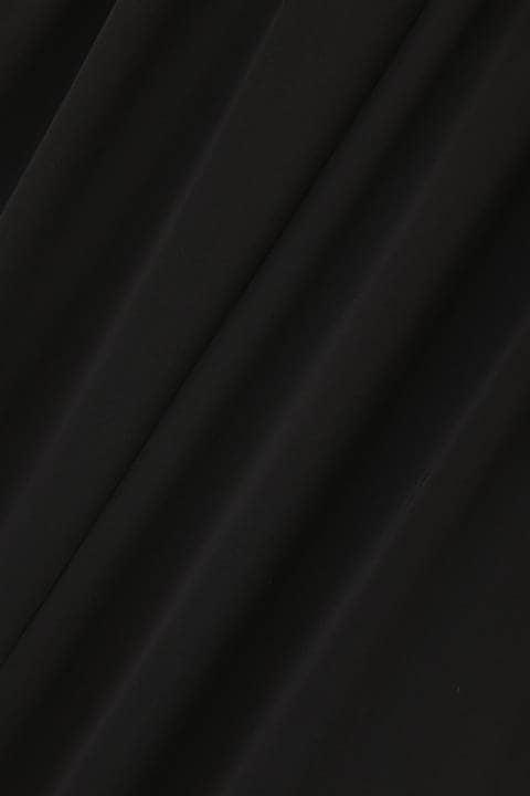 [ウォッシャブル]ドライスムースドロストワンピース
