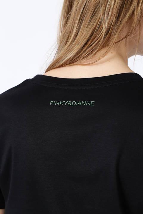 ネオンカラーバックロゴTシャツ