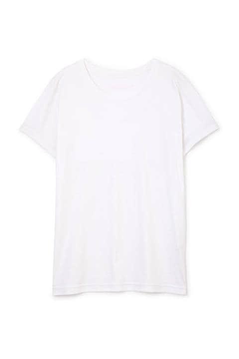 オンカラーバックロゴTシャツ