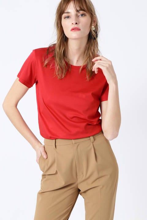 【雑誌 Oggi 5月号掲載】オンカラーバックロゴTシャツ