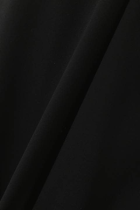 [ウォッシャブル]ライトジョーゼットシアーブラウス