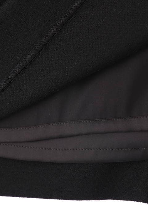 ウール圧縮タイトスカート