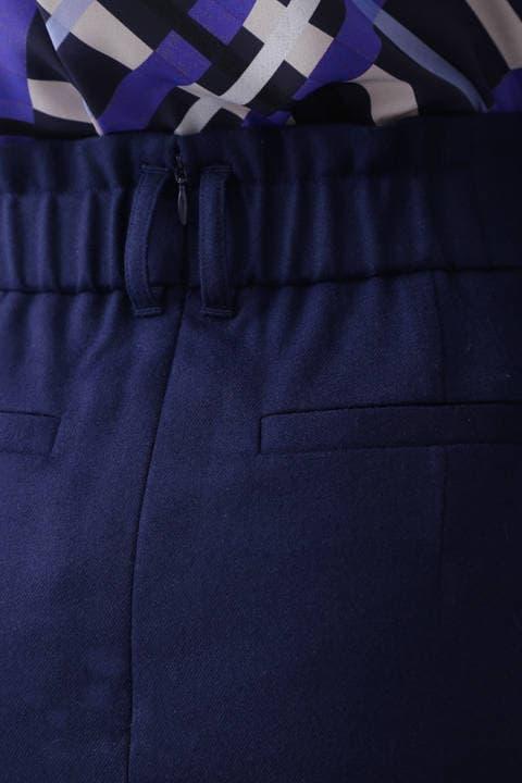 ハイカウントフラノラップスカート