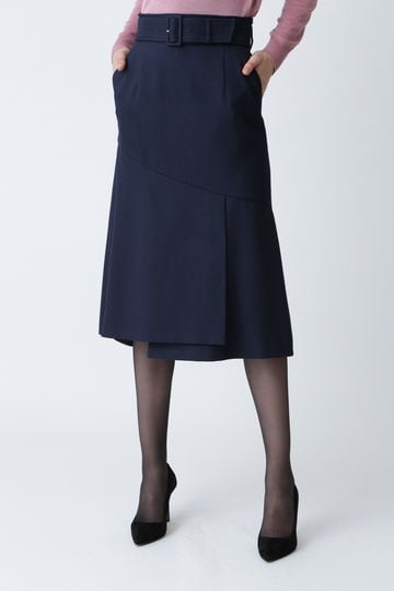 【先行予約 11月下旬-12月上旬入荷予定】フレアヘムミディスカート