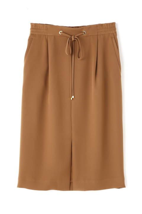 [ウォッシャブル]ドロストギャザーペンシルスカート