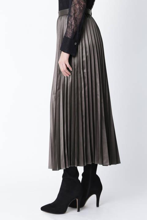 ブライトプリーツスカート