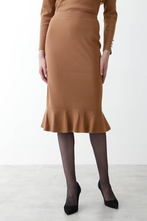 【先行予約 10月下旬-11月上旬入荷予定】セットアップペプラムスカート