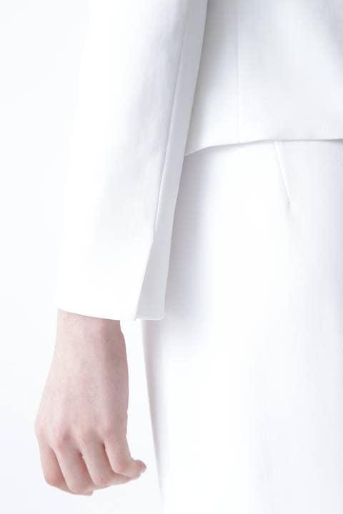 【ドラマ 黒木瞳さん着用】ハイツイストツイルノーカラージャケット