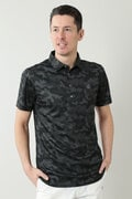 COOL MAXカモフラロゴプリント半袖シャツ (MENS)