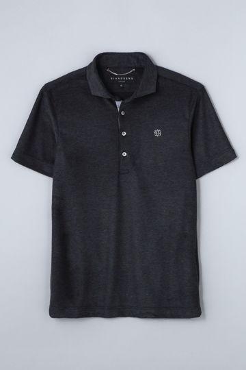 BK/パイルシャンブレーポロシャツ