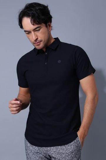 BK/ファインクール(吸水速乾)ジャガードポロシャツ