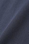 【Outlet】BK/小紋柄ジャガードポロシャツ