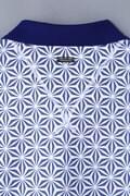 BK/TC ピケポロシャツ結晶柄ポロシャツ