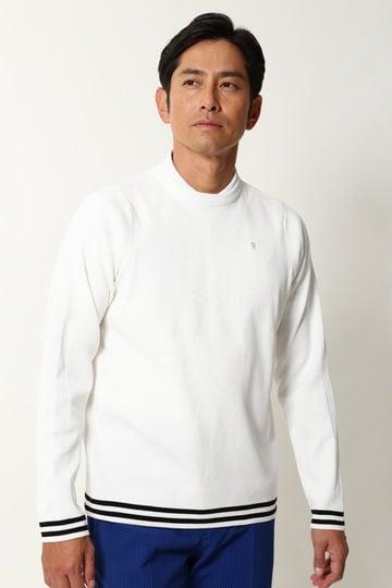 WH/総針裾ラインプルオーバー