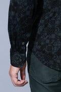 BK/アンドリュースカモ柄鹿の子シャツ