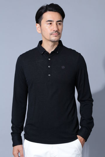 BK/COOL MAX鹿の子シャツ