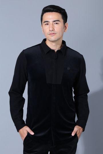 BK/ダルーチェベロアシャツ (MENS)