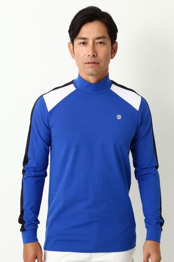 WH/ベア天ハイネックシャツ (MENS)