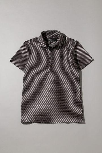 幾何柄ジャガードシャツ (MENS)