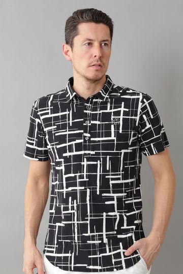 BK/裏鹿の子手書き風チェックシャツ (MENS)