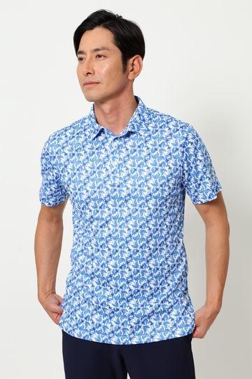 WH/COOLMAXアザミプリントシャツ (MENS)