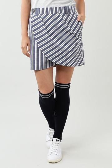 レジメンタルストライプスカート (WOMENS)