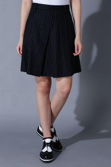 BK/ストライプ・チェック柄スカート