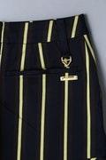 BK/レジメントストライプストレッチスカート