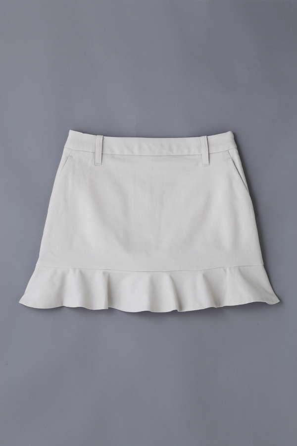 BK/裾フリルスカート