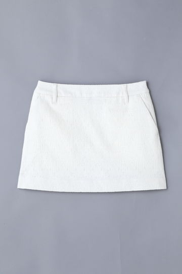 【Outlet】BK/ストレッチジャガードスカート