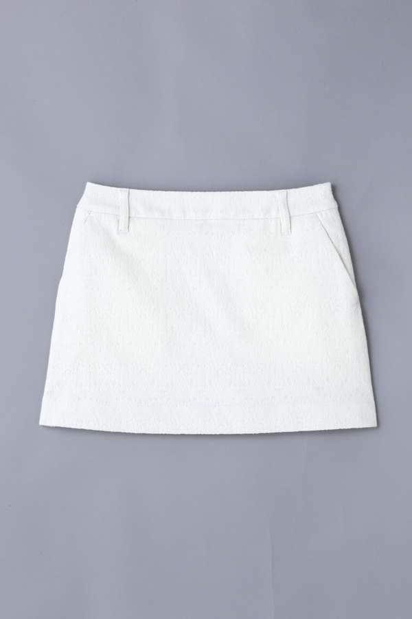 BK/ストレッチジャガードスカート