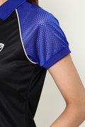 WH/COOL MAX(吸水速乾)ブライト鹿の子半袖ポロシャツ