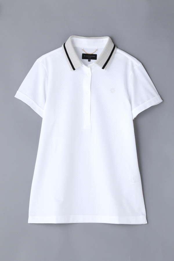 BK/ブレーティングジャガードポロシャツ