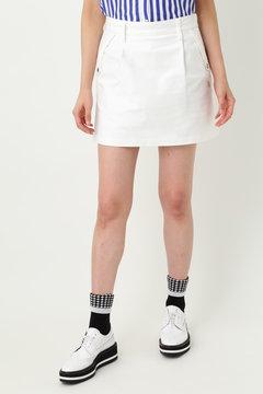 WH/ストレッチモールスキンスカート(WOMENS)