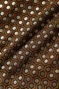 BK/幾何柄モールラメストレッチスカート